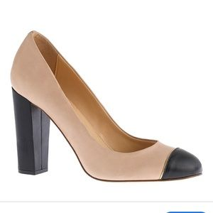 J.Crew Etta Made In Italy Leather Pumps